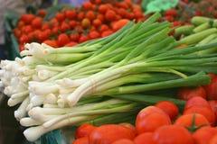 Fresh leek (Allium ampeloprasum) royalty free stock photo