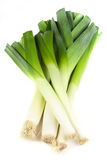 Fresh leek Stock Photo