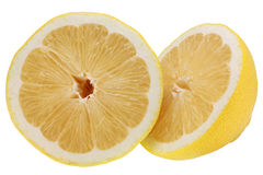 Fresh lemon. Lemon isolated on white background stock photos