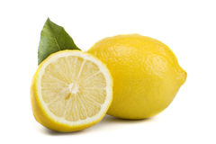 Fresh lemon Royalty Free Stock Images