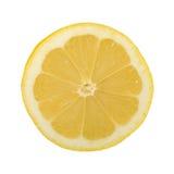 Fresh lemon. On white background Royalty Free Stock Photos