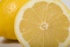 Fresh lemon. On white background Royalty Free Stock Photo
