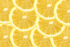 Fresh lemon citrus as background Stock Photography