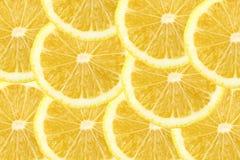 Fresh lemon citrus as background Stock Photography