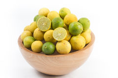 Fresh lemon cut Royalty Free Stock Photo