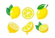 Fresh lemon fruits Royalty Free Stock Images
