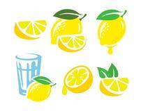 Fresh lemon fruits Royalty Free Stock Image