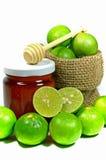 Fresh Lemon and Honey. Stock Image