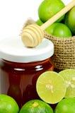 Fresh Lemon and Honey. Stock Photo