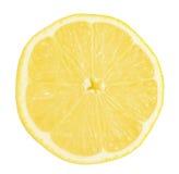 Fresh lemon isolated on white Royalty Free Stock Photos