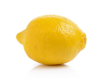 Fresh lemon isolated on white background Royalty Free Stock Photography