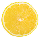 The fresh lemon  isolated on a white background Royalty Free Stock Images