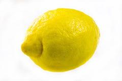 Fresh lemon isolated on white Stock Photos