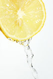 Fresh lemon juice Royalty Free Stock Photography