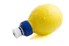 Fresh lemon juice Stock Image