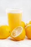 Fresh lemon juice Royalty Free Stock Photography
