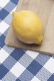 Fresh Lemon Kitchen Background Royalty Free Stock Photos