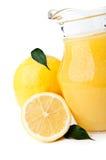 Fresh lemon and lemonade Royalty Free Stock Images
