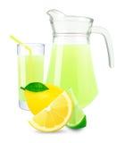 Fresh lemon-lime juice Royalty Free Stock Photography