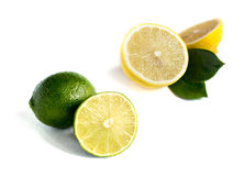 Fresh Lemon set Stock Image