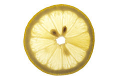 Fresh lemon slice Stock Photo