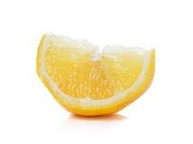 Fresh lemon slices  on white background Royalty Free Stock Image