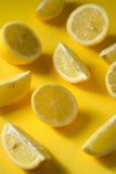 Fresh lemon slices Royalty Free Stock Image