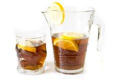 Fresh lemon tea Stock Photos