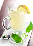 Fresh lemon tea Royalty Free Stock Images