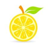 Fresh lemon vector icon Stock Image