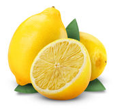Fresh lemon Stock Photo