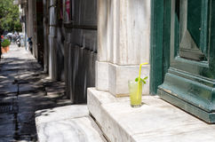 Fresh lemonade in Athens Royalty Free Stock Images