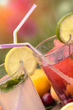 Fresh lemonade closeup Stock Photography