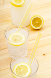 Fresh lemonade drink Stock Images