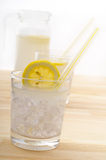 Fresh lemonade drink Stock Photography