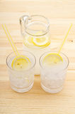 Fresh lemonade drink Royalty Free Stock Images