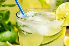 Fresh lemonade drink Royalty Free Stock Photos