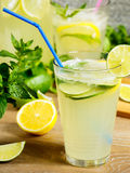 Fresh lemonade drink Royalty Free Stock Photo