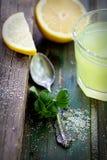 Fresh lemonade Royalty Free Stock Images