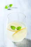 Fresh lemonade in glass Stock Photography