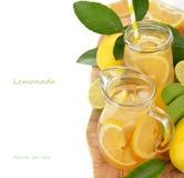 Fresh lemonade Stock Images