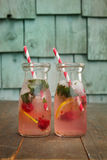 Fresh lemonades Royalty Free Stock Photography