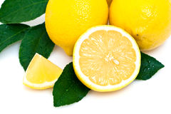 Fresh lemons Royalty Free Stock Photos