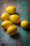 Fresh lemons Stock Photos