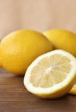 Fresh lemons. Close-up of fresh lemons Royalty Free Stock Photo