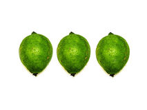Fresh lemons limes Stock Image