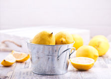Fresh lemons Stock Photos