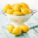 Fresh lemons. Stock Photo