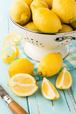Fresh lemons. Stock Images