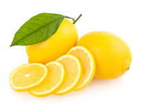 Fresh lemons Stock Images